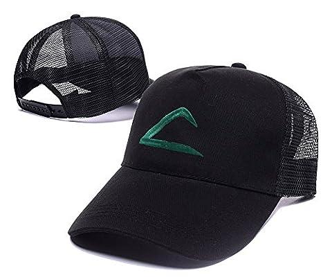 shuyi Frêne Ketchum Logo Brodé Bonnet Casquette Visière Chapeaux casquettes de baseball - - Taille unique