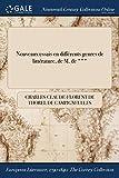 Telecharger Livres Nouveaux Essais En Differents Genres de Litterature de M de (PDF,EPUB,MOBI) gratuits en Francaise