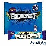 Cadbury Boost Bar 3x 48.5g - Schokoladenriegel