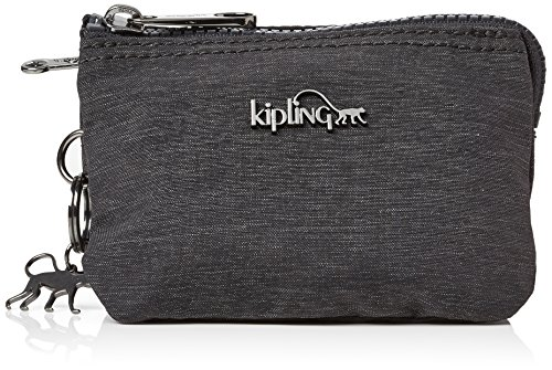 Kipling Women's Creativity S Purse, Grey (Spark Graphite 000), 14.5x9.5x0.1 cm (B x H x T)