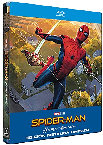 Spider-Man Homecoming - Edición Metálica [Blu-ray]