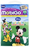 VTech - La casa de Mickey Mouse, juego educativo en soporte físico para MobiGo (80-250522)