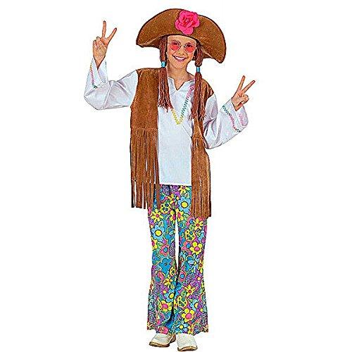 Kostüme 70er Dress Fancy (Hippie-Kostüm für Mädchen - 5 bis 7)