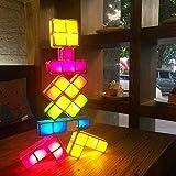 DIY Tetris Puzzle Licht Stapelbar LED Schreibtischlampe Constructible Block LED Nachtlicht Romantische Neuheit Lampe für Baby Geschenk.