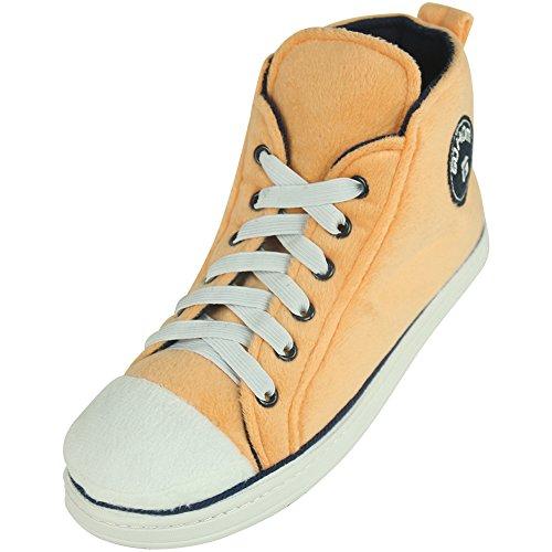 Gohom, Pantofole uomo Orange&Black