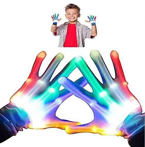 TOPTOY 4-5 Jahre alt Junge Spielzeug, Flashing Finger Handschuhe Party Favors Geschenke Spielzeug für 3-12 Jahre alte Mädchen 3-12 Jahre alte Kinder Spielzeug TTUKTTH01