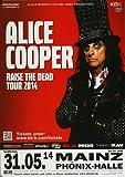 TheConcertPoster Alice Cooper - Raise The Dead, Mainz 2014
