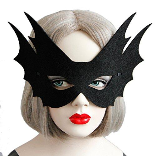 Da Kostüme Trägt (VENI MASEE Partei Maske Filz Tuch Halloween Maske ideal für Kinder Geburtstag Cosplay Tanz)
