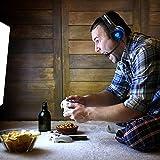 BUTFULAKE Gaming Headset, Audio Stereo Bass mit LED für PC, Kopfhörer mit Controller Praxis, kompatibel für PS4, Xbox One, PC, Laptop, Tablet, Smartphone … - 51x7PWI4GDL - BUTFULAKE Gaming Headset, Audio Stereo Bass mit LED für PC, Kopfhörer mit Controller Praxis, kompatibel für PS4, Xbox One, PC, Laptop, Tablet, Smartphone …