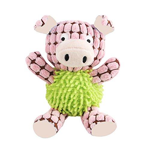 Leking Puppy Squeaky Toys mit Gummi für kleine Hunde Un -