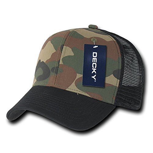 Decky Cotton Curve Bill Trucker Baseball Cap