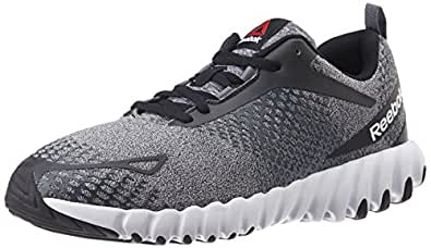 Reebok Men's Twistform Blaze Matl Black, Grey and White Running Shoes - 10 UK