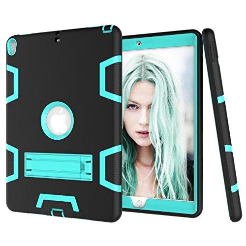 iPad Pro 10.5 2017 Hülle, Fizze dreilagige PC & Silikon High Impact Hybrid Drop Proof Armour Defensive Full Body Schutzhülle mit Ständer für iPad Pro 10.5 Zoll 2017 Modell Tablet
