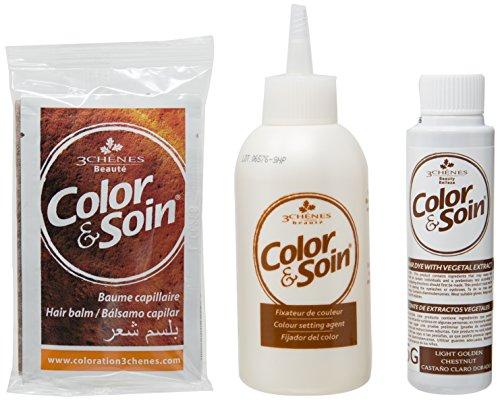 Les 3 Chênes : Color & Soin 5G - châtain clair doré
