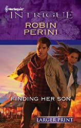Finding Her Son (Harlequin Larger Print Intrigue)