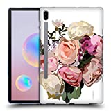 Head Case Designs Officiel Turnowsky Bouquet Rose Fleurs Coque en Gel Doux Compatible avec Samsung Galaxy Tab S6 (2019)