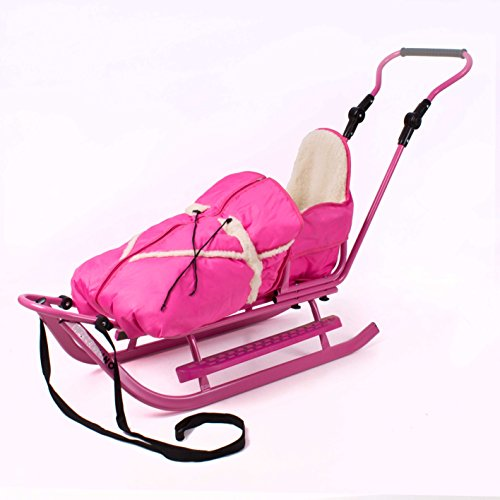 Luxus Schlitten mit umfangreichem Zubehör, NEU (pink-pink)