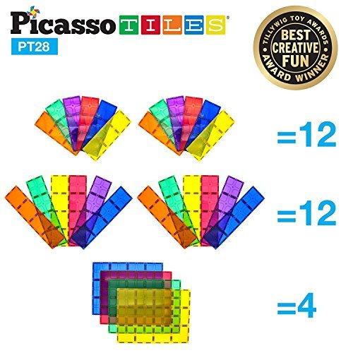 PicassoTiles 28 Stück 12