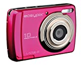 Easypix Swing Digitalkamera (10 Megapixels, 6,9 cm (2,7 Zoll) Display, HD-Video) pink