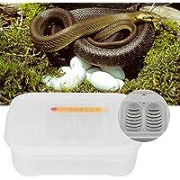 Incubadora de huevos de lagartos, incubadora de huevos de reptiles de 12 rejillas, duradera y conveniente para geckos para ranas