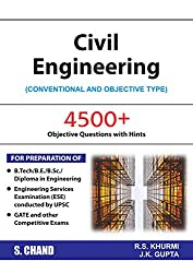 Civil Engineering: Conventional and Objective Type (2018-19 Session)