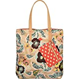 Oilily Blend Tote Biscuit