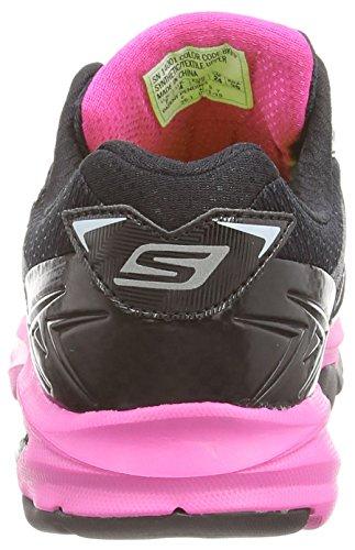 Skechers Go Run Strada Damen Trainieren/Laufen Black (Black/Pink)