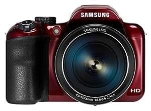 Samsung 1100F Appareil Photo Numérique Compact 16.2 Mpix zoom 35 x Wi-Fi Rouge