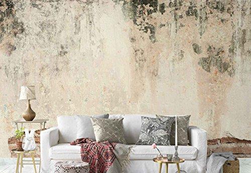 Vlies Fototapete Fotomural - Wandbild - Tapete - Alte Mauer Grunge Beton - Thema Texturen und...