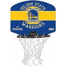 Spalding NBA Miniboard Golden State 77-661Z Minicanasta, Multicolor, Talla Única