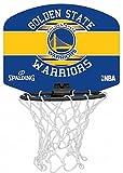 Spalding Basketball Mini Golden State Badminton Board, Mehrfarbig, One Size