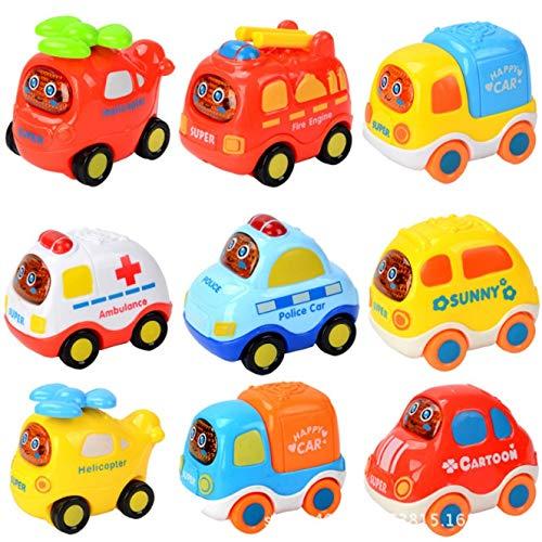 Samidy Zufällige Farbe Baby Infant Inertia Toy Car 3 in einer Packung für 2-3 Jahre Kinder