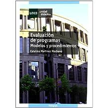 Evaluación de programas : modelos y procedimientos (UNIDAD DIDÁCTICA)