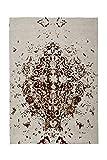 Teppich Wohnzimmer Carpet Vintage Design Ballerina 700 RUG Kreuz Ornament Muster Polyester 160x230 cm Beige / Teppiche günstig online kaufen