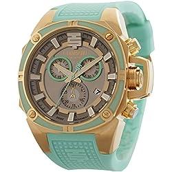TechnoSport Damen Chrono Uhr - DREAMLINE gold