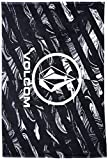 Volcom Herren Handtuch Twisted Towel, Black, One Size, D6711639BLK