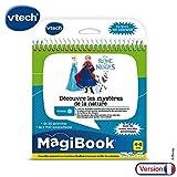 VTech- MAGIBOOK-LA Reine des NEIGES 2-DECOUVRE Les MYSTERES DE LA Nature Livres EDUCATIFS, 80-462105, Multicolore