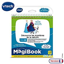 VTECH- MagiboOK-la Frozen -Discovery of the Mysteries of Nature Educational Books, 80-462105, Multi-Coloured
