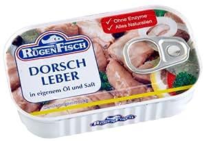 Rügenfisch Dorschleber, 5er Pack  (5 x 115 g)