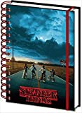 Taccuino per appunti 3D, A5, a spirale, Stranger Things (Minde Flayer)
