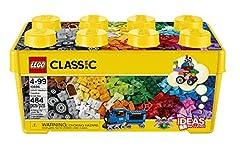Idea Regalo - LEGO Classic - Scatola Mattoncini Creativi, 10696