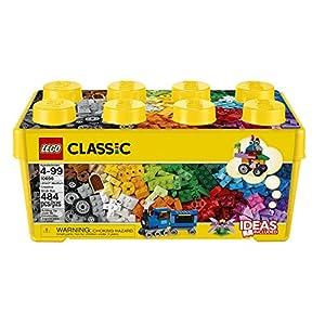 LEGO Classic ScatolaMattonciniCreativiMediaper Liberare la Fantasia, Facile da custodire, per Bambini dai 4 Anni, 10696 4057057289946 LEGO