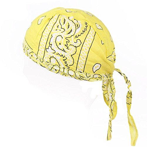 EERTX - ♛♛ Herren Satin Im Freien Reiten Schlafmütze Atmungsaktive Nachtmütze Kopfbedeckung Schlaf Solid breitkrempigen Haarband Schlafmütze Chemotherapie Hut Haarkappe Anti-Haarausfall