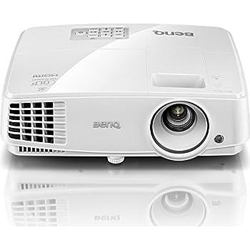 BenQ MS527 Proiettore DLP, SVGA, Luminosità 3300 Ansi Lumen, Contrasto 13.000:1, HDMI 1.4a, Durata Lampada Fino a 10.000 Ore, Bianco