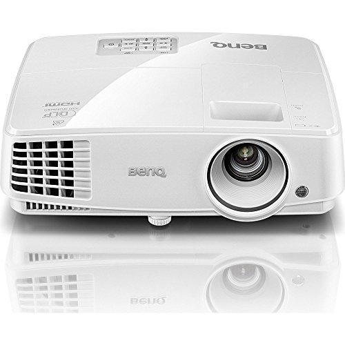 BenQ MS527 Proiettore DLP, SVGA, 3300 ANSI Lumen, Contrasto 13.000:1, HDMI 1.4a, Durata Lampada Fino a 10.000 Ore, Bianco