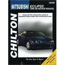 Mitsubishi Eclipse, 1990-98 (Chilton's Total Car Care Repair Manuals)