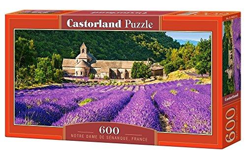 CASTORLAND Notre Dame de Sènanque, France Puzzle - Rompecabezas (France, Puzzle Rompecabezas, Paisaje, Niños y Adultos, Niño/niña, 9 año(s), 680 mm)