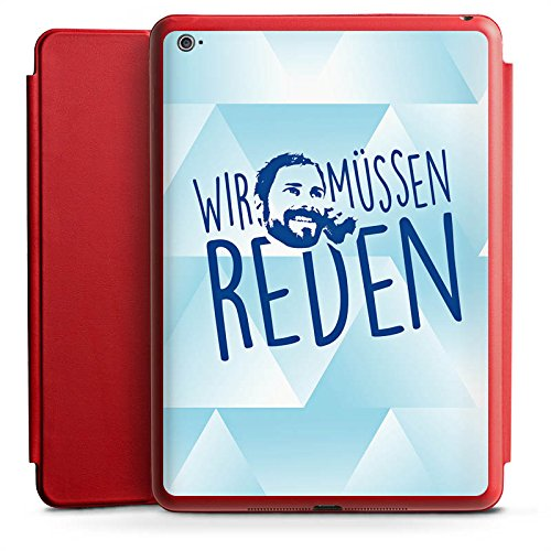 Apple iPad Air 2 Smart Case Hülle Tasche mit Ständer Smart Cover Rocket Beans TV Gunnar Krupp Wir Müssen Reden (Rocket Cover)