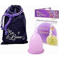 Me Luna Coupe menstruelle Soft, boule, rose, taille L