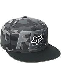 Casquette Fox Keep Out Snapback Black Camo